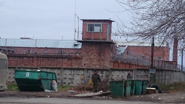 Novocherkassk prison where Nadiya sits in solitary confinement. Photo by Vira Savchenko