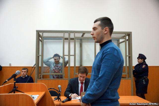 Defense witness Yaroslav Hryhoriev.