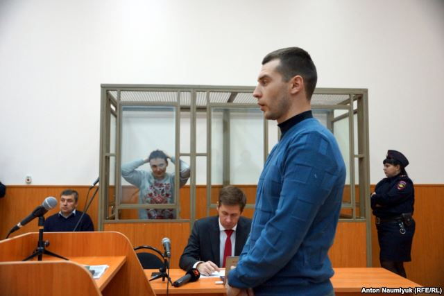 Defense witness Yaroslav Hryhoriev.