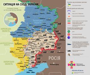 Lage in der Ostukraine am 16.01.2016