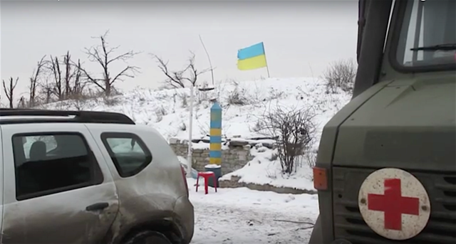 "At AFU ""Zenith"" position, Ukraine. Photo: screenshot from Military Reporters TV video footage."