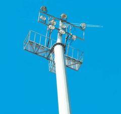 Donetsk telecommunications mast
