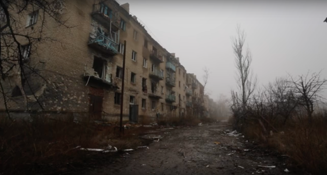 Pisky, Donetsk Oblast. Photo: Bryce Wilson.