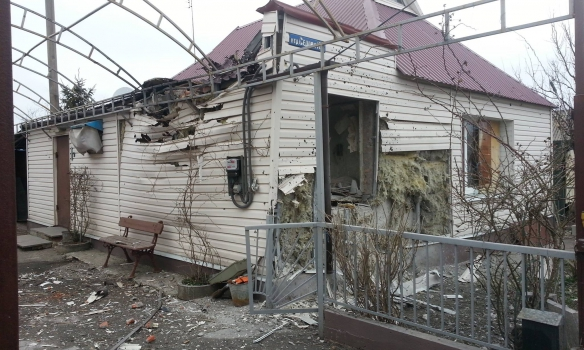 Militants attacked residential sector in Avdiivka (Donetsk region) morning of March 10, 2016