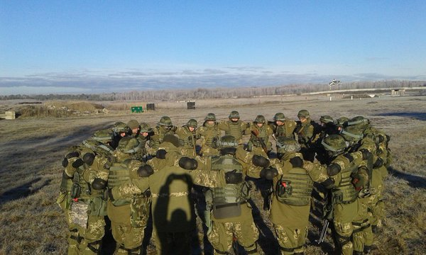 """Somewhere near Donetsk – militants' 'martial brotherhood.'"" Photo: https://twitter.com/GirkinGirkin/status/711214461659402241"