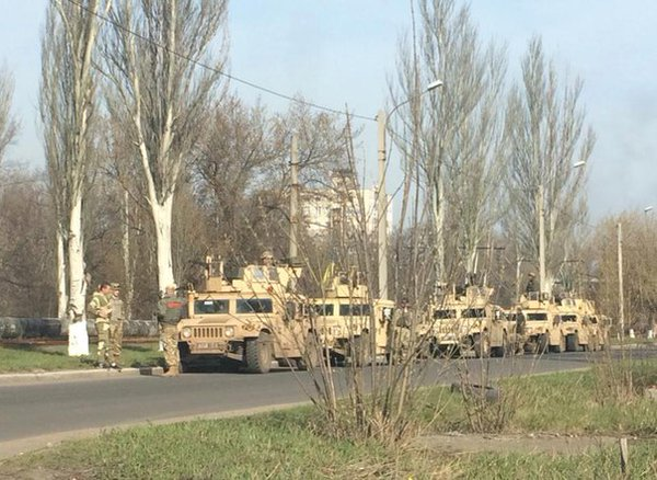 Reinforcements arrived in Avdiivka. Photo: Armed Forces of Ukraine https://twitter.com/UaForces/status/718832302466404352