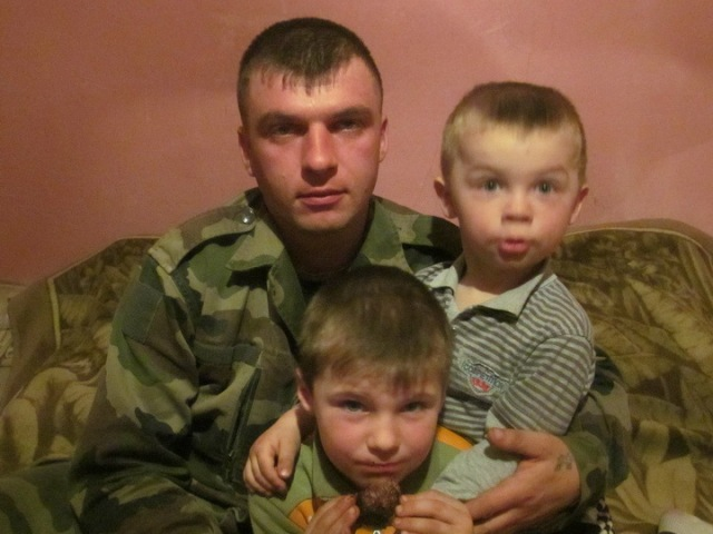 Oleg Morozevich and sons.