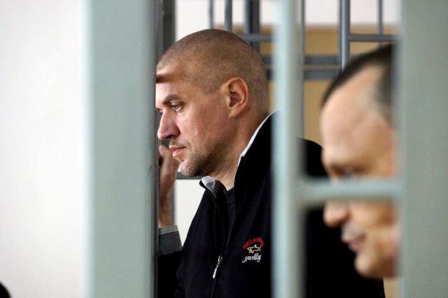 Klykh and Karpyuk in court. Photo: Anton Naumlyuk