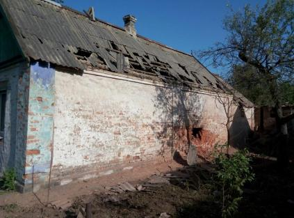June 20-21, 2016: The consequences of overnight shelling in Avdiivka