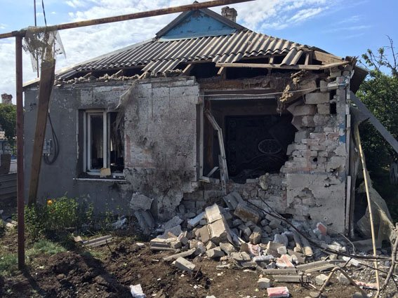 Chermalyk, Donetsk - June 14, 2016.