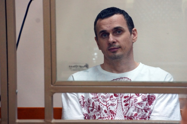 "Oleg Sentsov. Photo: Anton Naumlyuk, especially for ""Novaya Gazeta"""