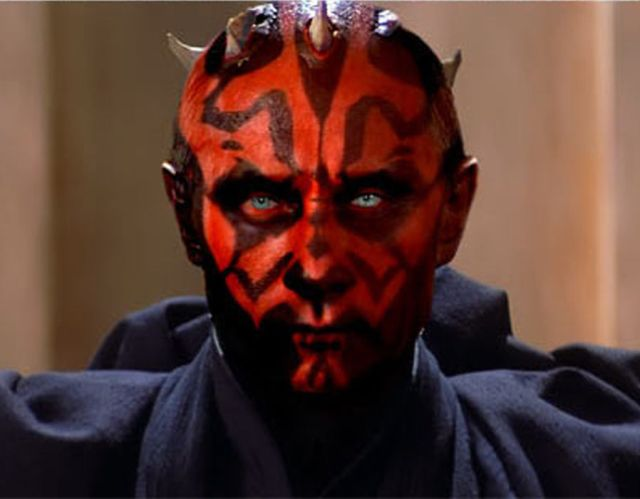 Putin as Darth Maul